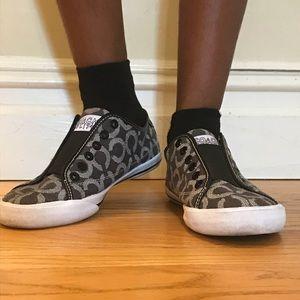 Coach Keely Brown Sneaker Slip-ons